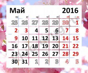 Как отдыхаем на майские праздники