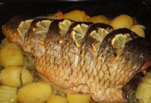 Рыба, запеченная в фольге с картошкой в духовке