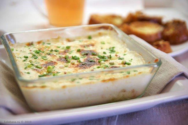 жульен со свининой и грибами и картошкой рецепт в духовке