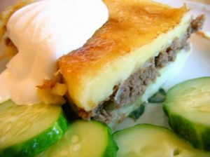 рецепт картофельной запеканки