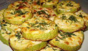 Блюда из кабачков быстро и вкусно в духовке