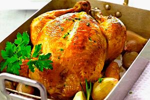 жареная курица в духовке рецепт с фото