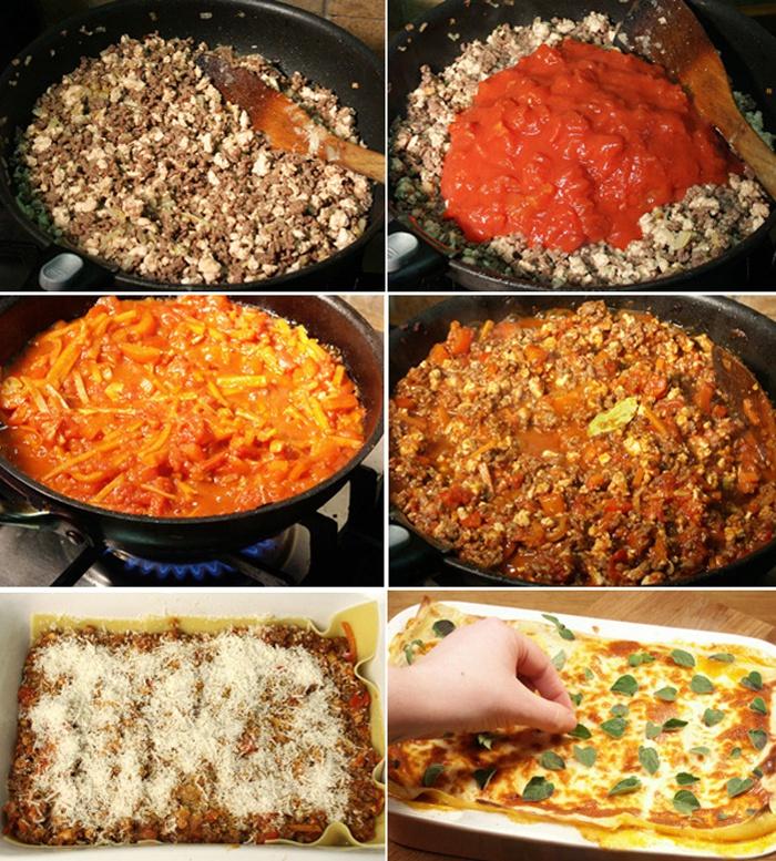 Как приготовить классическую лазанью с фаршем, рецепт