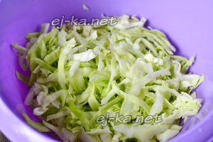 шинкуем капусту для салата