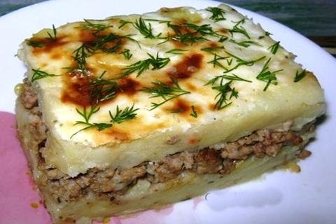Картошка с фаршем в духовке рецепт с фото пошагово. Как 3