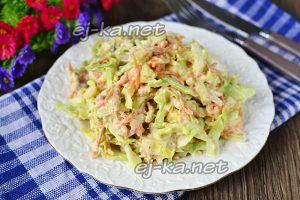 Салат с курицей и корейской морковью – рецепт с фото