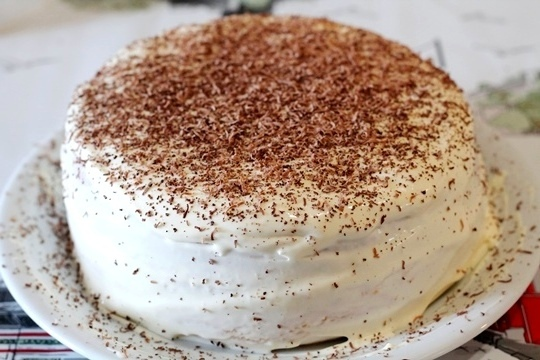 бисквитный торт рецепт с фото в домашних условиях с клубникой