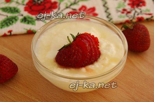 Готовый домашний йогурт в мультиварке