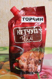 Кабачки с кетчупом «Торчин»