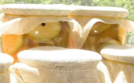 Кабачки с кетчупом чили «Торчин» закатка