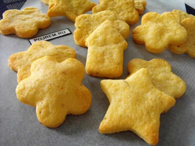 печенье на кефире рецепты с фото в духовке