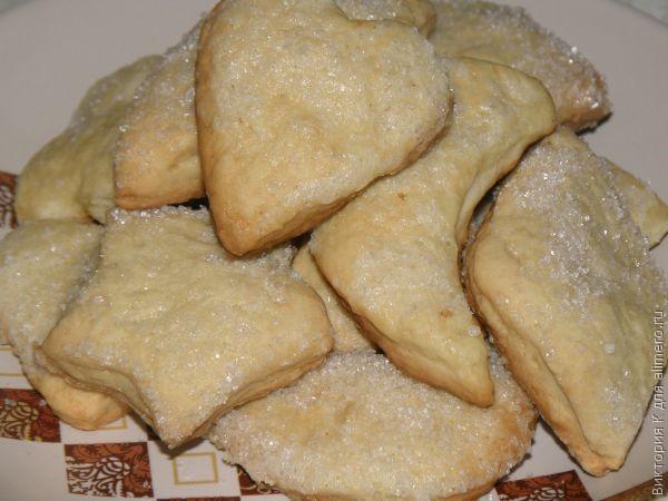 Рецепты печенья из майонеза и масла и сметаны