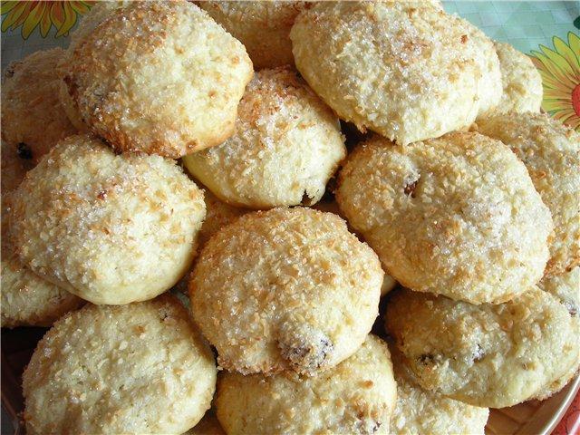 сахарное печенье с майонезом рецепт с фото