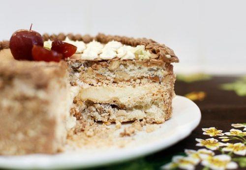 Торт «Киевский» пошагово дома
