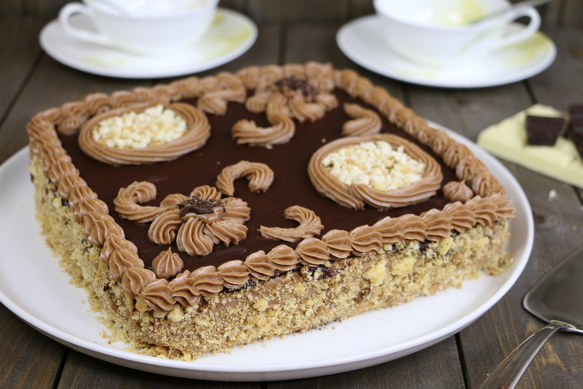 Рецепт ленинградского торта