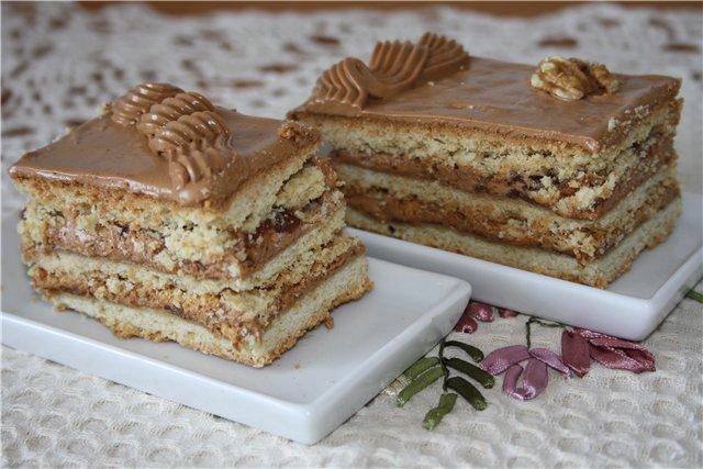 вкусный торт на молоке рецепт с фото пошагово