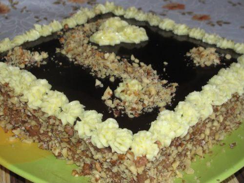 Торт «Ленинградский» по ГОСТу с фото
