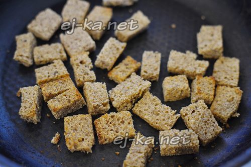 Приготовить сухарики