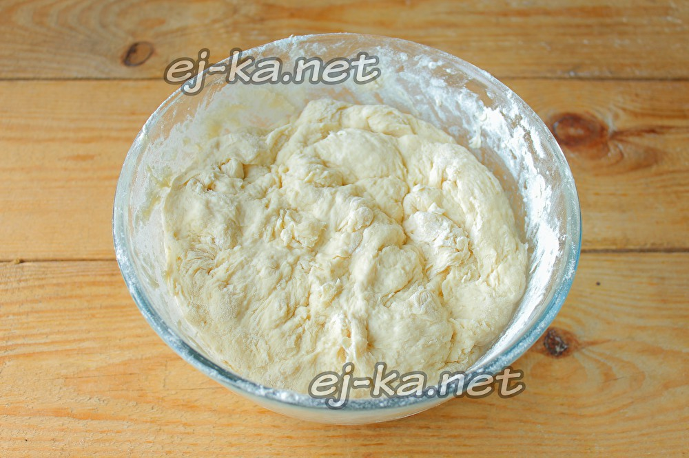 Теста для жареных пирогов с капустой