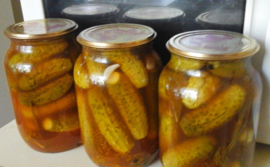 Соленые огурцы - рецепт засолки