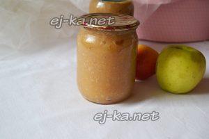 Яблочное пюре на зиму рецепт