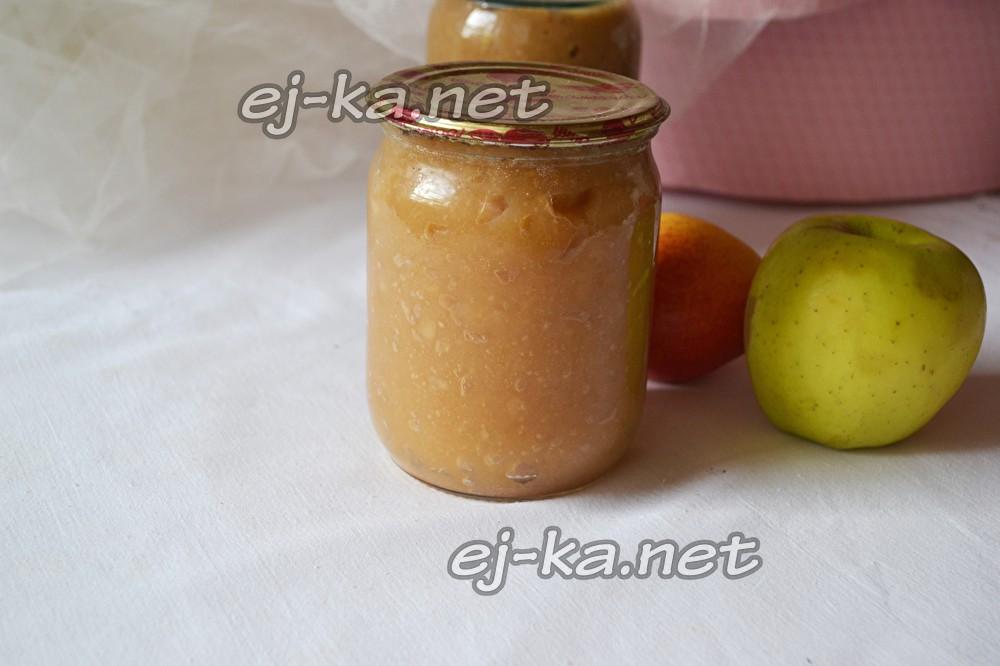 Как сделать пюре из яблок рецепт 157