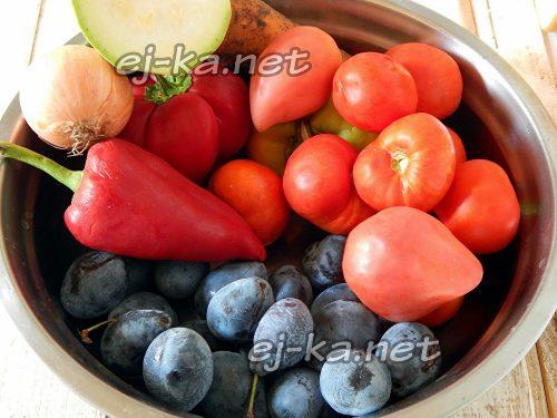 Подготовить ингредиенты для соуса