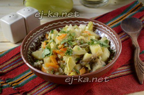 готовое рагу овощное