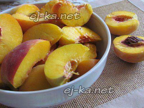 подготовить персики