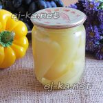 Болгарский перец в масле с чесноком на зиму
