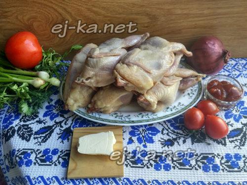ингредиенты для чахохбили