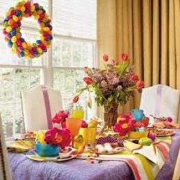 Пасхальный стол 2012