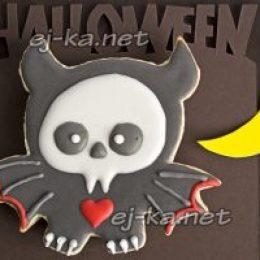 Миниатюра к статье Печенье к Хэллоуину «Мышь-вампир»
