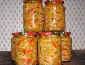 Миниатюра к статье Салат из капусты с овощами «Сентябрьская сказка»