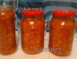Лечо из болгарского перца и кабачков на зиму, пальчики оближешь