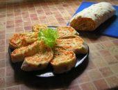 Миниатюра к статье Закуска из лаваша с корейской морковью