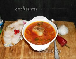 борщ украинский рецепт с фото