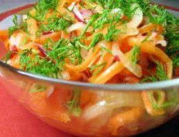 Миниатюра к статье Имбирный салат для похудения