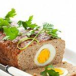 Рулет с яйцом