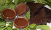 Мятная маска с шоколадом для лица