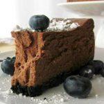 на рецепт шоколадного чизкейка