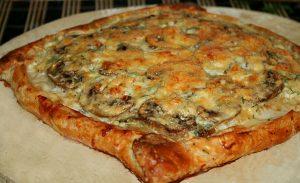 Рецепт пирогов с грибами