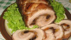 Рецепт рулета из свиной грудинки в мультиварке