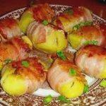 Рецепт приготовления картофеля в беконе