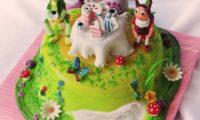 Детские торты с персонажами мультфильмов на nytaste.ru