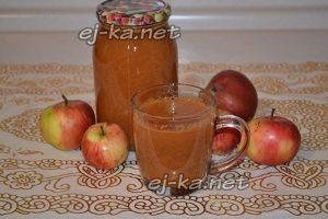 Домашний яблочный сок на зиму