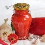 Аджика из болгарского перца на зиму