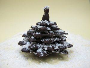 Шоколадая елочка самостоятельно