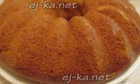 Яркий и полезный кекс с творогом и тыквой