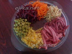 Салат Козел в огороде рецепт праздничный